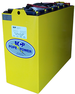 Pope Power Industrial Forklift Battery