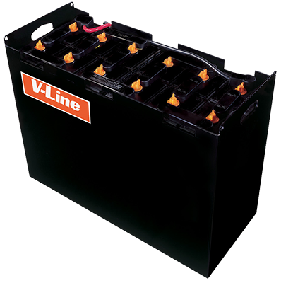V-Line Industrial Forklift Battery